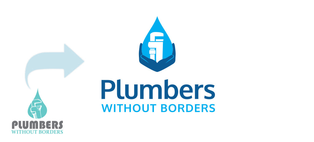 Plumbers Without Borders Logo Rebrand